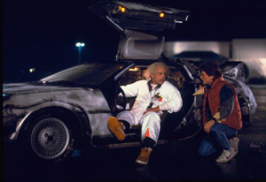 Back to the Future promotional photograph