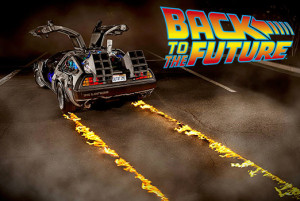 Back to the Future promo art