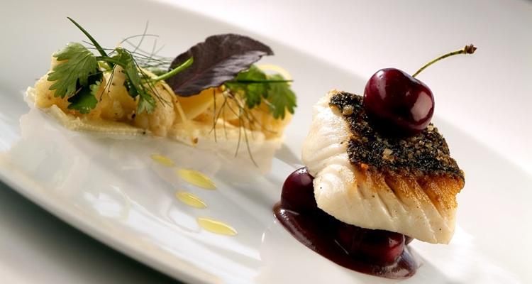 Gourmet fish dish