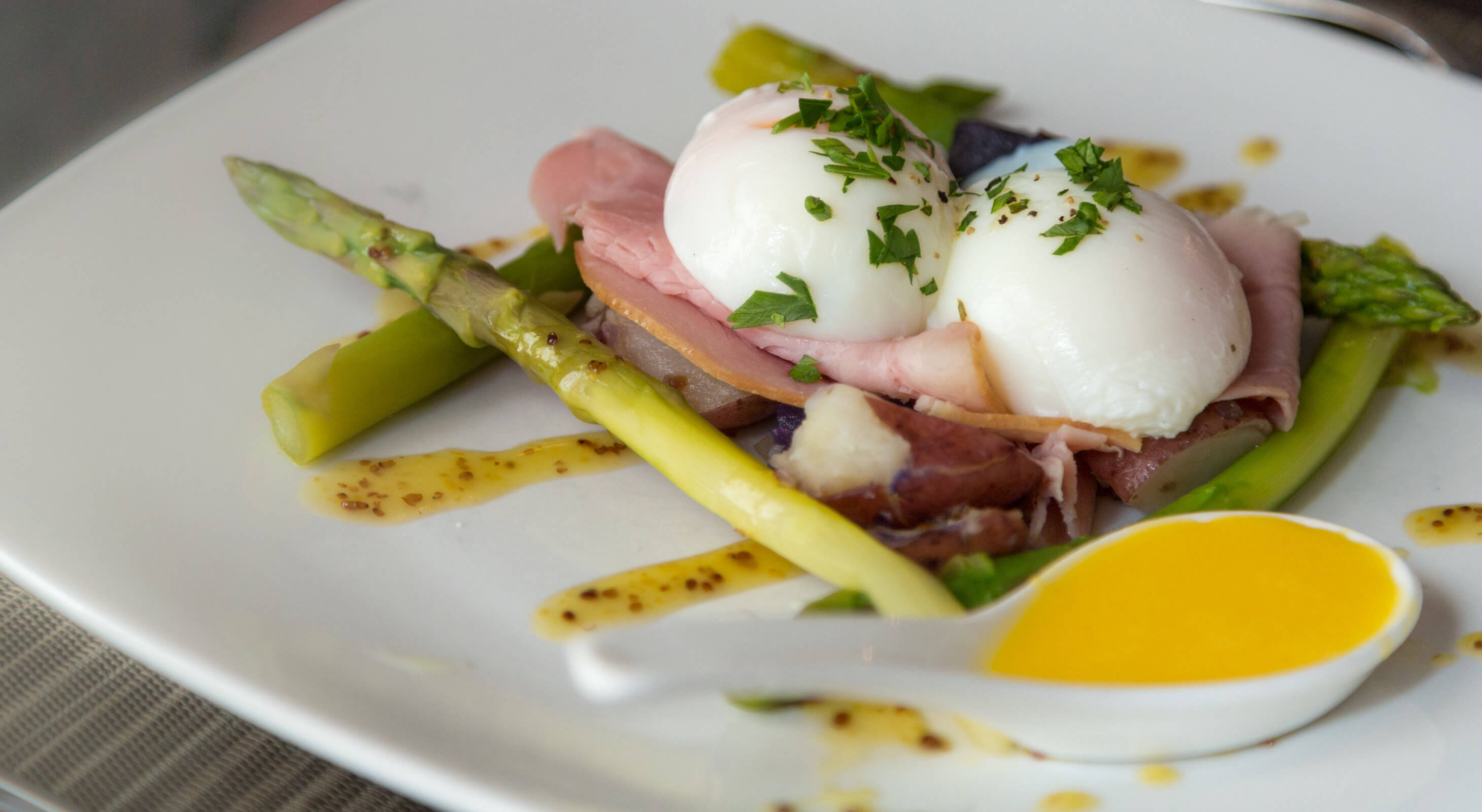 Gourmet benedict breakfast