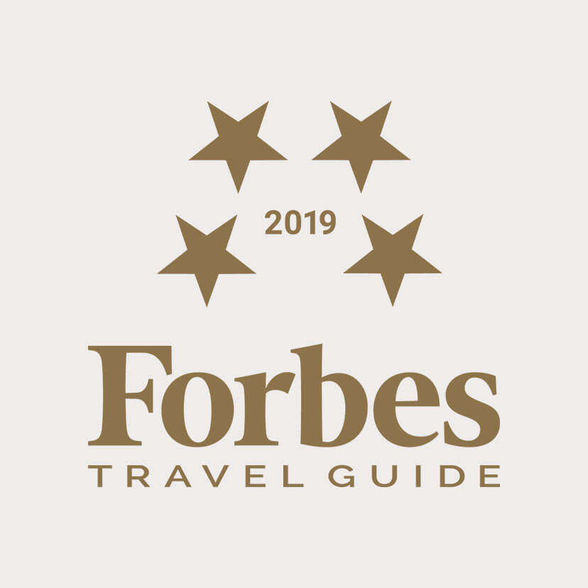 4 Stars - Forbes Travel Guide 2019