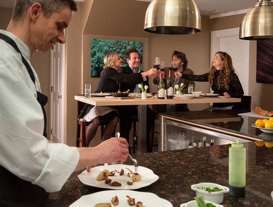 Chef's Table in the Kitchen - Chatham Restaurant