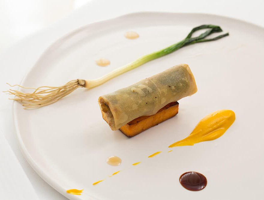 Maine Crab Spring Roll - Cape Cod Restaurant