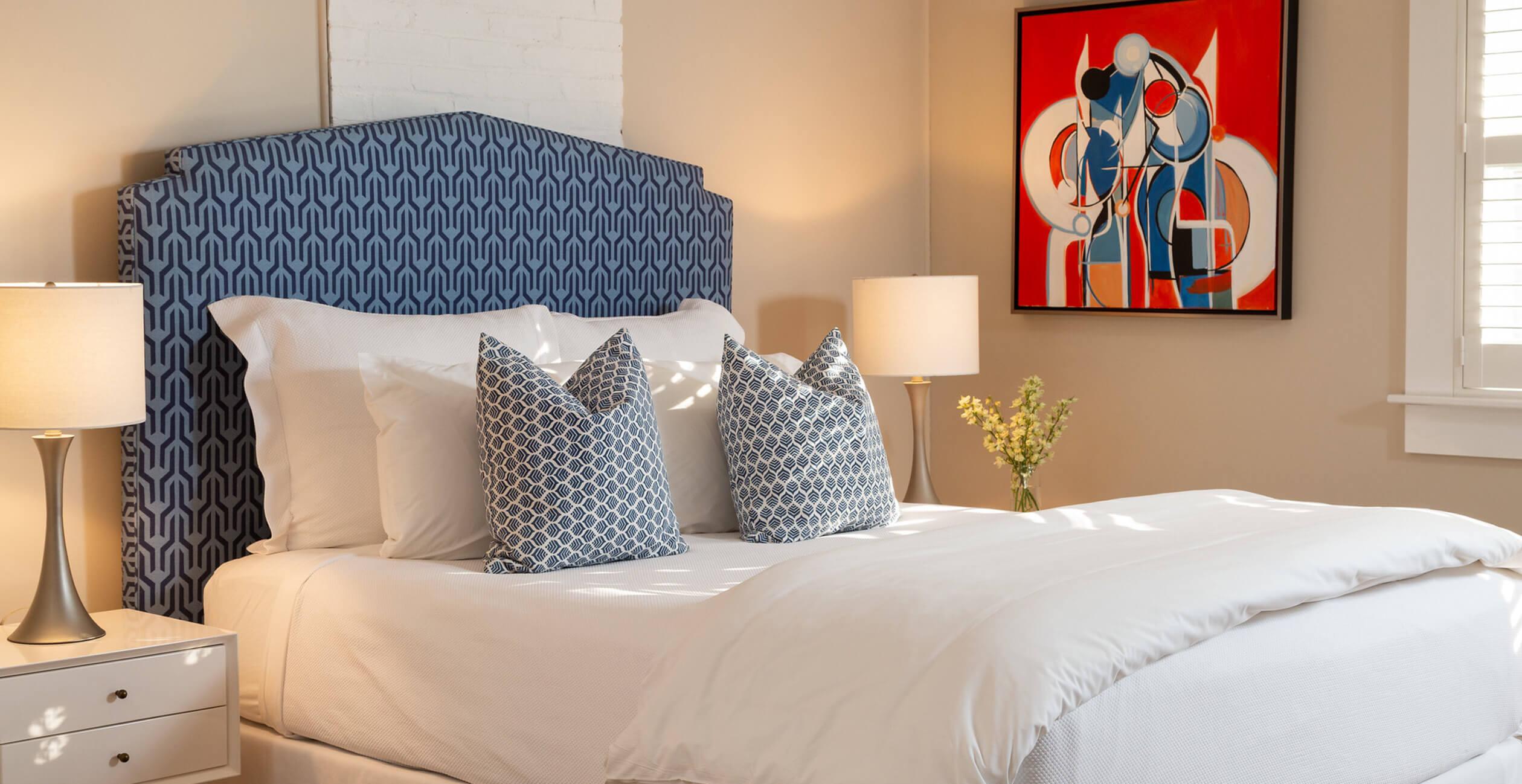 Room 18 bed