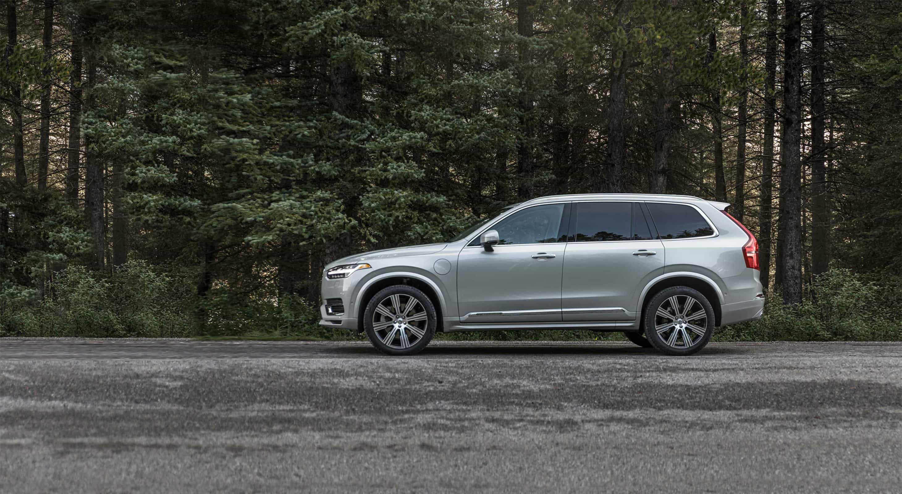 Massachusetts road trip in a Volvo SUV