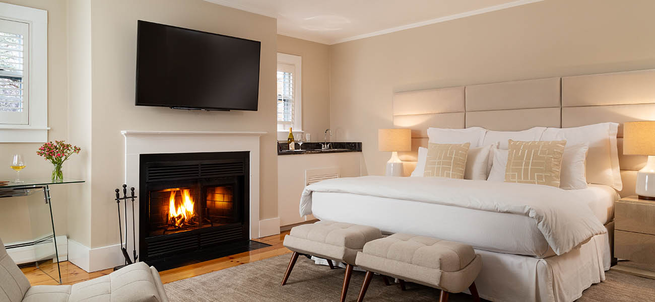 Luxury Guest Room at Our Cape Cod Boutique Hotel
